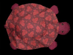 Maroon Leaf Turtle